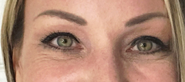 blondie after soft fill brow